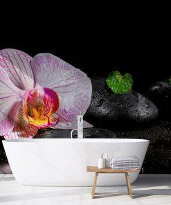 Fotomural Vinilo Interior Baño Spa Relax