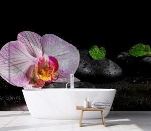 Vinilo Interior Baño Spa Relax