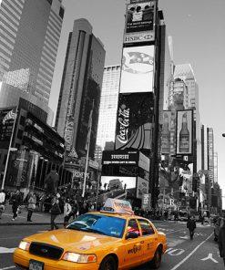 Vinilo Nueva York Taxi