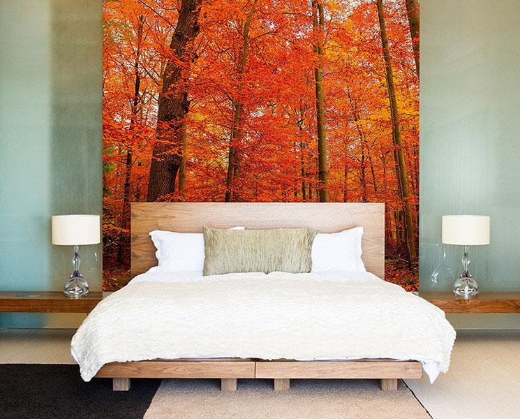 Vinilo Dormitorio Bosque