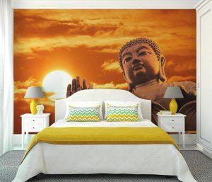 Fotomural Vinilo Dormitorio Buda