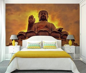 Vinilo Dormitorio Buda