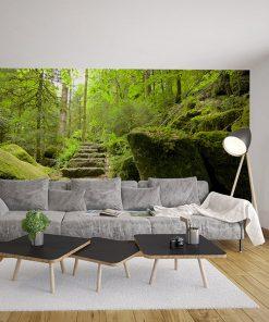 Fotomural Vinilo Salon Bosque