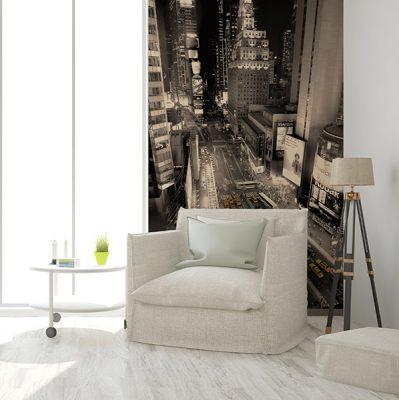 Fotomural Vinilo Salon Nueva York