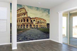 Fotomural Vinilo Salon Roma