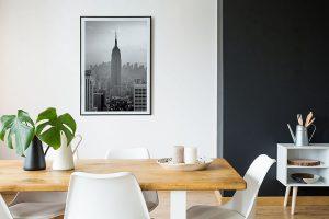 Lienzo Comedor Nueva York-2