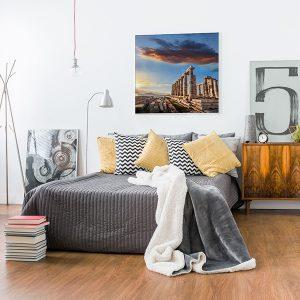 Lienzo Dormitorio Grecia Atenas