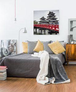 Lienzo Dormitorio Castillo Matsumoto Japón