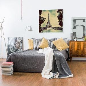 Lienzo Dormitorio Paris