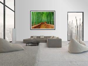 Lienzo Salon Bambu