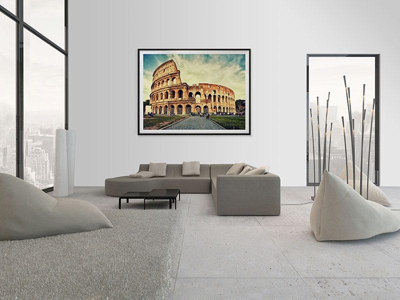 Lienzo Salon Coliseo Roma