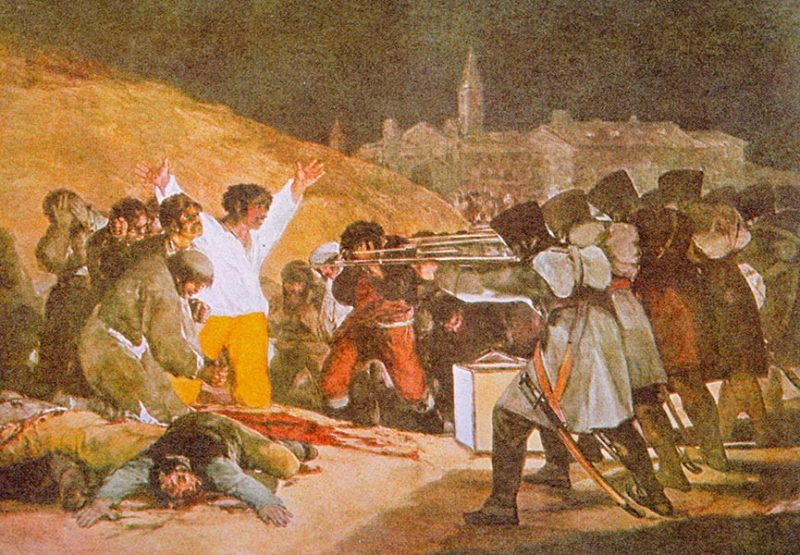 Lienzo Fusilamientos 3 Mayo