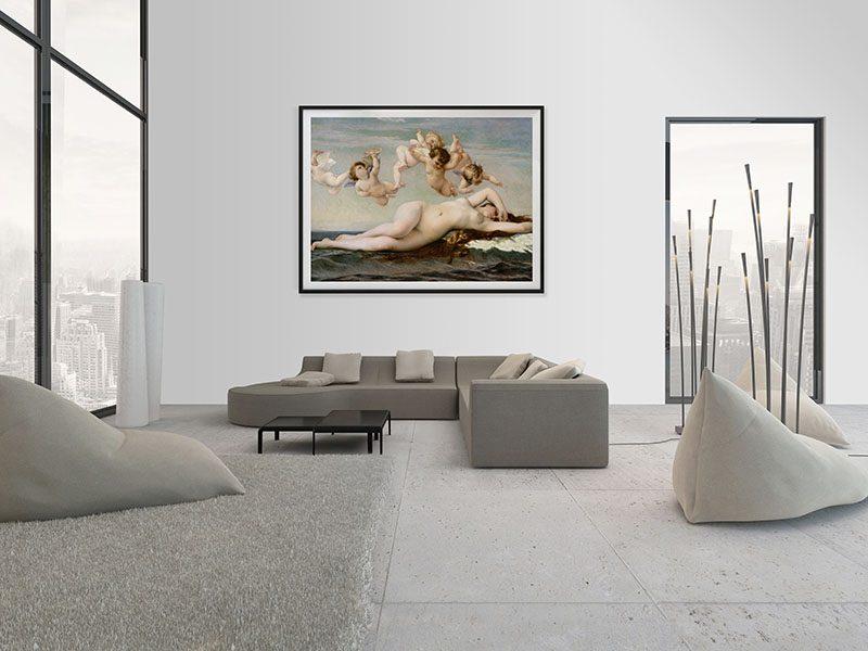 Lienzo Salon Nacimiento Venus