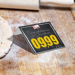 portaprecio panadería