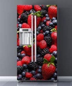 Vinilo Electrodomésticos Frutos Rojos
