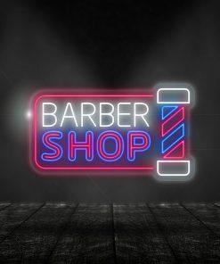 Neon Led Barberia Barber shop Medidas