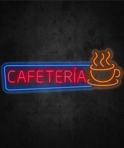 Neon Led Cafetería
